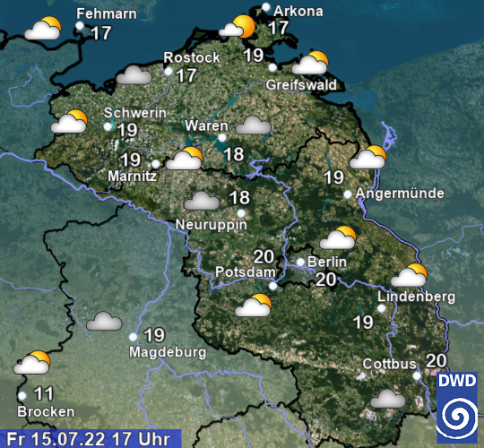 Wetter Heute Potsdam