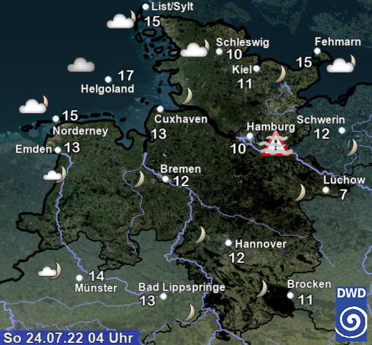 wetter fehmarn 10 tage