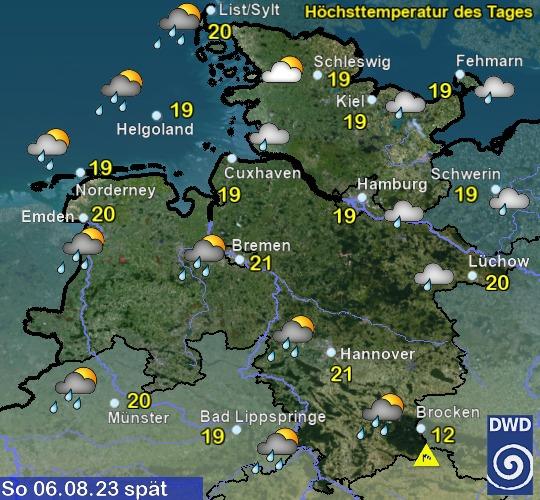 Vorhersage Wetter